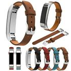 Replacement Genuine Leather Wristband Strap Bracelet For Fitbit Alta & Alta HR