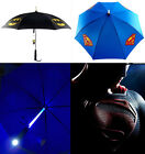 Creative Led Umbrella Light Up Illuminated Batman Superman Rain Protection