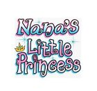 Nana Lil  Princess T Shirt Youth Girl Christmas Birthday Gift Toddler US Size