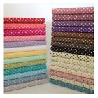 3mm Polka Dot Collection 100% Cotton fabric, Sewing, Craft, Spots