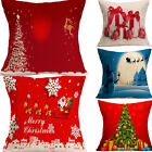 how to shop for a sofa - Christmas Sofa Home Decor Throw Pillow Case Cushion Cover For Party SHOP GIFT