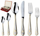 75-Pcs. Gold Flatware Serving Set 18/10 Stainless Silverware Service for 12