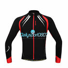 DS Fleece Thermal Winter Cycling Bicycle Jacket Casual Coat Bike Jersey Red