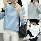 Women Casual Long Sleeve Hoodies Pullover Sweatshirt Tops Asian Size M to XXL