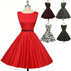 GK Womens Retro Vintage Evening Party Dress 1950s Pinup Wiggle Work Plus Size