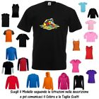 T-Shirt Cubo di Rubik Magico Fuso Twisty Puzzle Cotone Fruit of the Loom Russell