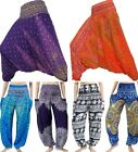 Harem Trousers Pants Yoga Festival Baggy Hippy Ali Baba Aladdin Gypsy Casual