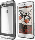 GHOSTEK® CLOAK 2 CLEAR HYBRID SHOCKPROOF ALUMINUM CASE COVER FOR IPHONE 7 PLUS