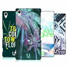 HEAD CASE DESIGNS TROPICAL TRENDS HARD BACK CASE FOR SONY PHONES 2