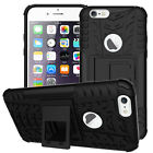 """Exact fit drop protection stand shockproof black case For 4.7"""" i phone 6 6S"""