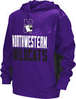Northwestern Wildcats Youth Sonic Pullover Hooded Sweatshirt - Purple