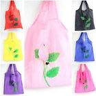Leaves Designs Reusable Folding Bags Grocery Shopping Eco Friendly Tote Bags
