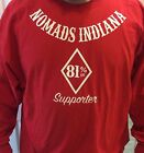 HELLS ANGELS NOMADS INDIANA SUPPORT LONG SLEEVE TSHIRT