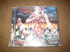 USED Cannibal Corpse eaten back to life death metal siz feet under deicide