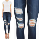 women s distressed destroyed cotton modal soft