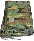 Poncho Liner Woobie Blanket US Military Issue Woodland Camo BDU Wet Weather Army