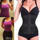 7 Steel Boned Waist Trainer Shaper For Weight Loss Long Torso Corset Women jtrr