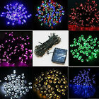12M 100 led Solar Powered Fairy Lights Wedding Party Club Decoration New Comer