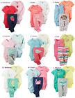 Carter's Baby Girl 3pc Set Outfit Clothes Newborn 3 6 9 12 18 24 Month New