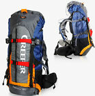 Waterproof 65L Outdoor Sports Backpack Travel Bag Rucksack Internal Frame Large