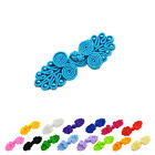 Handmade Tradition Chinese Knots Frog Buttons Closures Beaded DIY Sewing EW