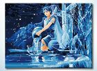 Paint by Number Kit:The Constellations Zodiac Aquarius Fluorescence(60cm x 80cm)