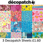 Decopatch Papers for Decoupage 25 Different Packs