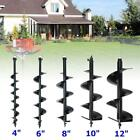 """4"""" 6"""" 8"""" 10"""" 12"""" Bits Drill for Earth Auger Post Hole Digger Fence Soil Drill"""