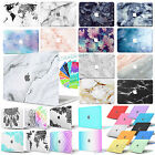 "Rubberized Pattern Marble Hard Case +Key Cover For 2016 Macbook PRO 13""TOUCH BAR"