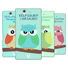 HEAD CASE DESIGNS MEAN OWLS HARD BACK CASE FOR SONY XPERIA Z