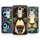 HEAD CASE DESIGNS AZTEC ANIMAL FACES SOFT GEL CASE FOR LG LEON