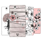 HEAD CASE DESIGNS CHERRY BLOSSOMS HARD BACK CASE FOR SONY XPERIA Z