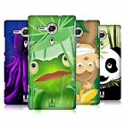 HEAD CASE DESIGNS TOON ANIMALS HARD BACK CASE FOR SONY XPERIA SP / C5302 / C5303