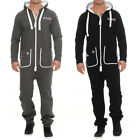 GameSuit Herren Jumpsuit Gamer Jogging Anzug Overall Onesie Trainingsanzug