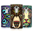 HEAD CASE DESIGNS AZTEC ANIMAL FACES SOFT GEL CASE FOR LG G4
