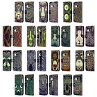 HEAD CASE DESIGNS AZTEC ANIMAL FACES 2 LEATHER BOOK CASE FOR HTC ONE MINI 2