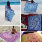 Indian Ombre Mandala Tapestry Throw Wall Hanging Boho Tapestries Dorm Decor ❤
