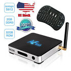 USA Anewish 2G 32G AE256 Android 6.0 TV Box S912 Octa Core 1000M LAN KODI 17.0