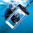 New PVC Cell Phone Waterproof Bag Pouch Cover Case Arm Band Luminous With String