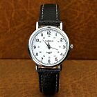 Ladie,Men Watches with Numbers Faux Leather Analog Quartz 3.2cm-3.8cm WristWatch
