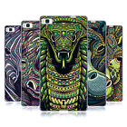 HEAD CASE DESIGNS AZTEC ANIMAL FACES SERIES 6 SOFT GEL CASE FOR HUAWEI P8