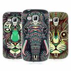 HEAD CASE DESIGNS AZTEC ANIMAL FACES 2 GEL CASE FOR SAMSUNG GALAXY S DUOS S7562