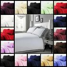 Luxury 100% Egyptian Cotton Duvet Quilt Cover & Pillowcase Bedding Set All Sizes image
