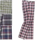 2016 New lobster Tour Golf Milton Funky Smart Trousers Check RRP £79 Free P&P
