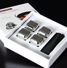XZQD-Create Metal Cubes High Quality Whiskey Stainless Steel 4/6 Pcs