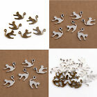 Lot 20/50/150Pcs ZInc Alloy Antique Silver flat Cat Charms Pendants19x14mm