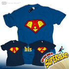 Be a Superman Superheld T-Shirt Name Logo Letter Buchstabe J K L M N O P Q R S T