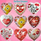 SELECTION HEART Valentines Foil Balloon H Love Shower Wedding Party Supplies lot