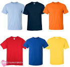 PACK OF 6 MENS CREW NECK T-SHIRT 100% COTTON ADULT FASHION 6 COLOURS S-XXL