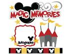 Disney Mickey Mouse Die Cut Scrapbook Embellishment Card making